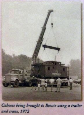 Caboose Delivery, 1972 image. Click for full size.