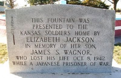 Wagnor Memorial Fountain Marker image. Click for full size.