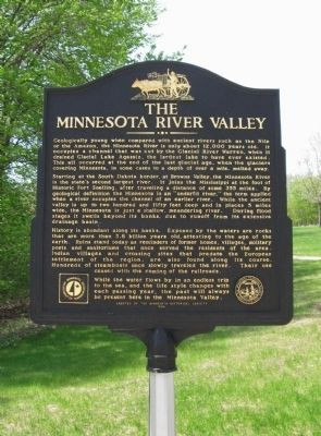 The Minnesota River Valley Marker image. Click for full size.