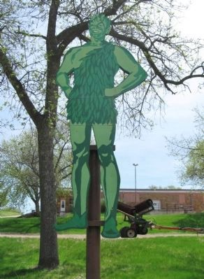 The Jolly Green Giant image. Click for full size.