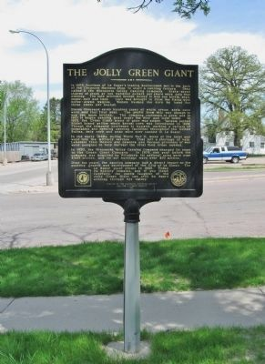 The Jolly Green Giant Marker image. Click for full size.