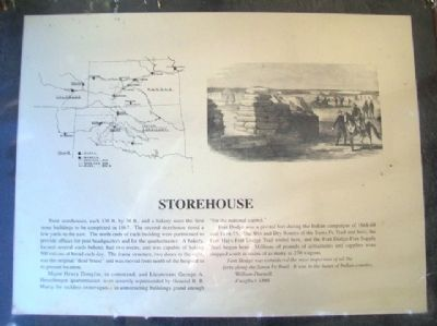 Storehouse Marker image. Click for full size.