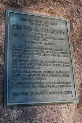 This Tablet Placed Here in Honor of William H. Kilcawley Marker image. Click for full size.