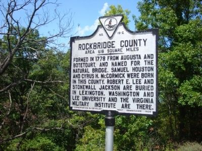 Rockbridge County image. Click for full size.