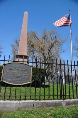 In Memory of Millard Filmore Marker and Monument image. Click for full size.