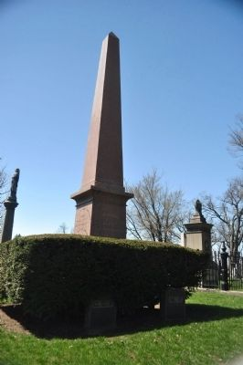 Millard Filmore Monument and Graves image. Click for full size.