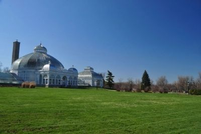 The Buffalo and Erie County Botanical Gardens Greenhouse image. Click for full size.