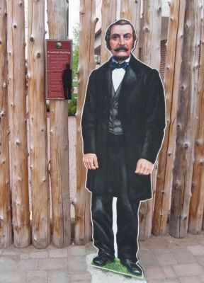 Nearby Biography and Life Size Standup image. Click for full size.