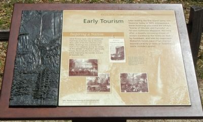 Early Tourism Marker image. Click for full size.