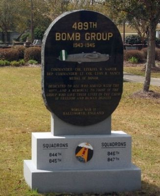 489th Bomb Group Marker image. Click for full size.