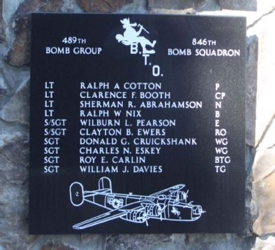 489th Bomb Group 846th Bomb Squadron image. Click for full size.