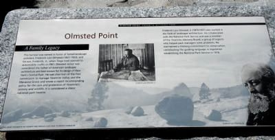 Olmsted Point Marker image. Click for full size.
