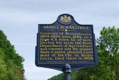 Daniel H. Hastings Marker image. Click for full size.