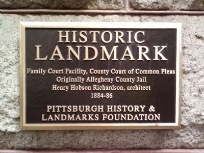 Family Court Facility Marker image. Click for full size.