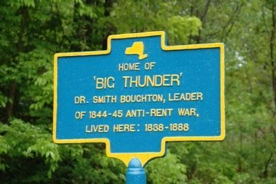 Home of Big Thunder Marker image. Click for full size.