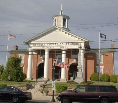 Carroll County Courthouse image. Click for full size.