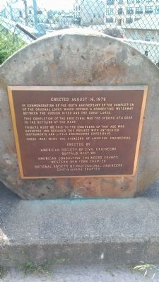 Lockport Locks Marker image. Click for full size.
