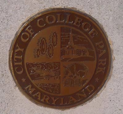 Seal of College Park - War Memorial, Marker Panel 2 image. Click for full size.