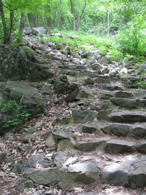 Rock Steps by Civilian Conservation Corps image. Click for full size.