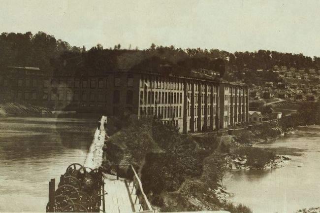 View of the Washington Mills, Fries Va.... image. Click for full size.