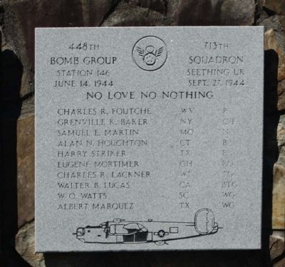 448th Bomb Group 713th Squadron image. Click for full size.
