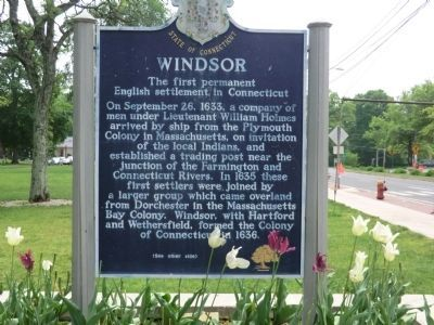 Windsor Marker-Side One image. Click for full size.