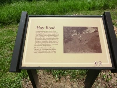 Hay Road Marker image. Click for full size.