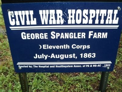 George Spangler Farm Marker image. Click for full size.