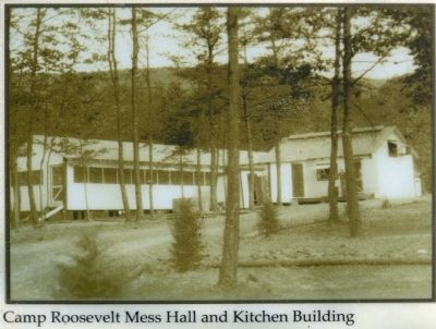 Camp Roosevelt Mess Hall and Kitchen Building image. Click for full size.