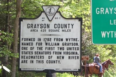 Grayson County Face of Marker image. Click for full size.