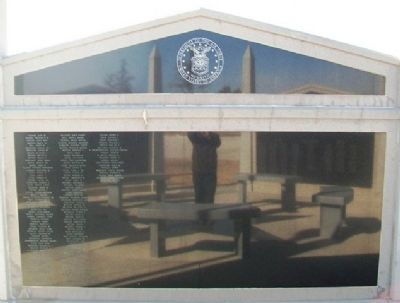 Veterans Memorial USAF Honor Roll image. Click for full size.