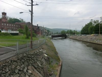 Bellows Falls Canal Marker image. Click for full size.