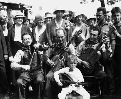 1933 White Top Folk Festival Photograph image. Click for full size.