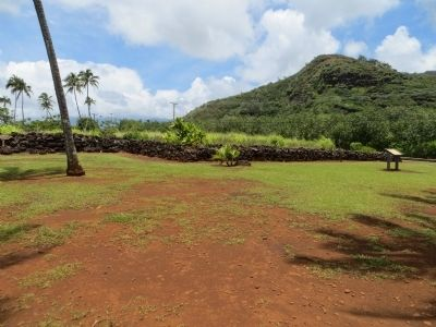 Poli'auh Heiau image. Click for full size.