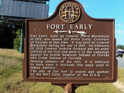 Fort Early Marker image. Click for full size.