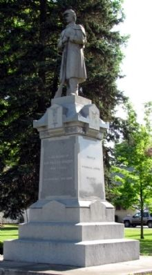 Union City Civil War Monument image. Click for full size.