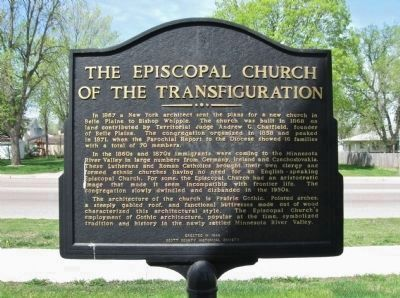 The Episcopal Church of the Transfiguration Marker image, Click for more information