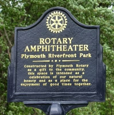 Rotary Amphitheater Marker image. Click for full size.