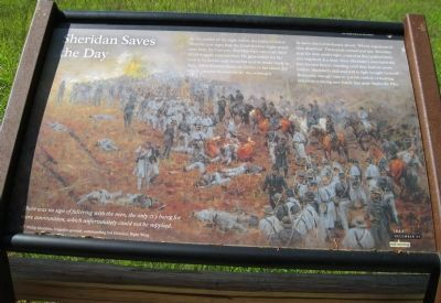 Sheridan Saves the Day Marker image. Click for full size.