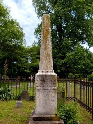 Grave of George Gale<br>Old Quaker Burying Ground image. Click for full size.