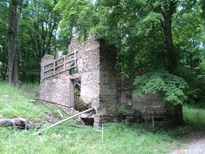 Ruins of the Long Pond Ironworks Company Store image. Click for full size.
