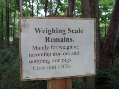 Weighing Scale Remains Marker image. Click for full size.