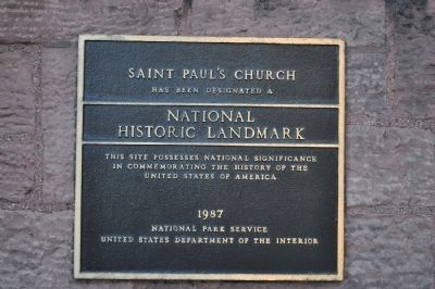 St. Paul's Cathedral National Historic Landmark Marker image. Click for full size.