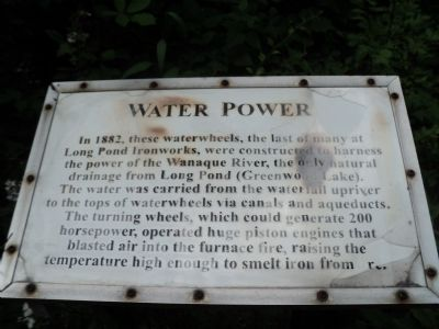 Water Power Marker image. Click for full size.