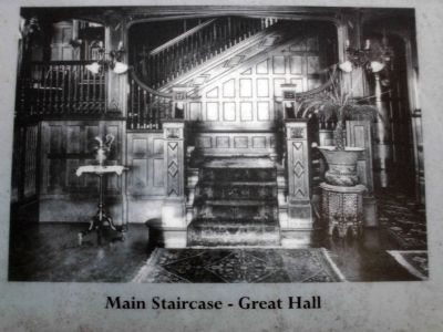 Main Staircase in the Great Hall image. Click for full size.