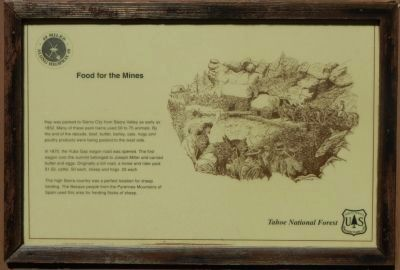 Food for the Mines Marker image. Click for full size.