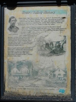 Sierra Valley History Marker image. Click for full size.