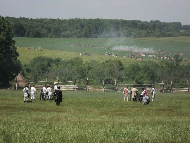 Battle of Monmouth image. Click for full size.