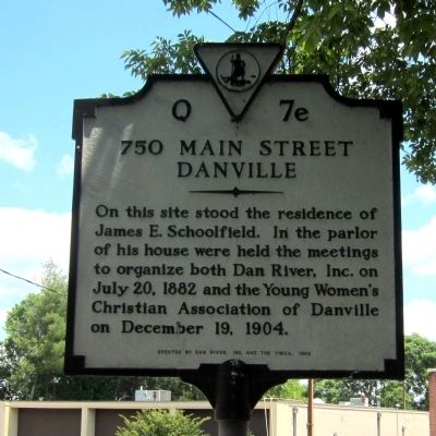 750 Main Street Marker image. Click for full size.