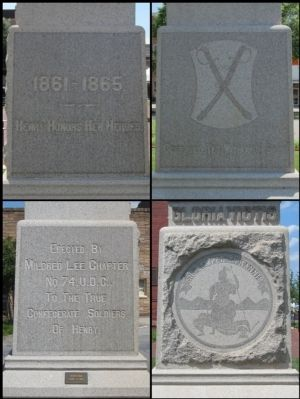 Henry County U.D.C. Monument image. Click for full size.
